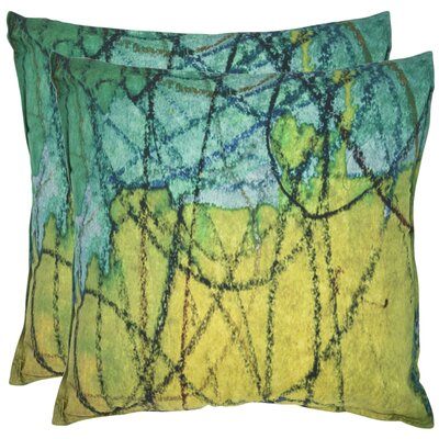 Volos Cotton Throw Pillow Size: 20 H x 20 W