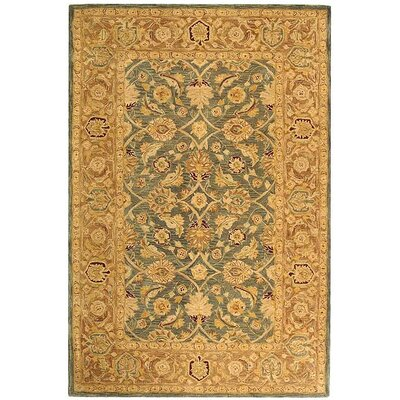 Anatolia Blue / Brown Area Rug Rug Size: Rectangle 4 x 6