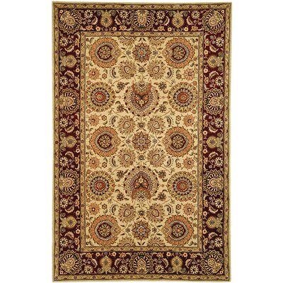 Persian Court Rug Rug Size: 6 x 9