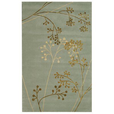 Soho Light Blue Area Rug Rug Size: 96 x 136