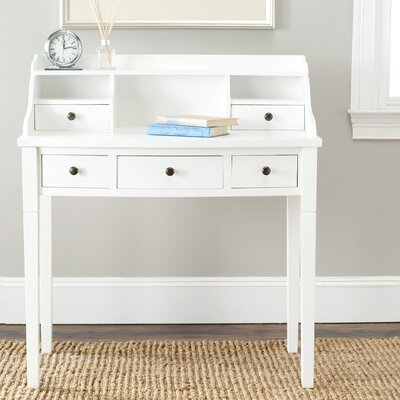 Safavieh American Home White Writing Desk Amh6516d Small