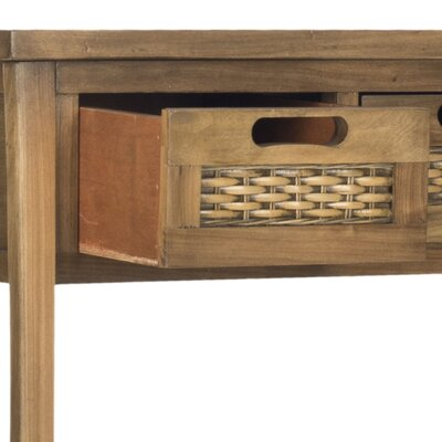 Rent to own Autumn Console Table Color: Brown...