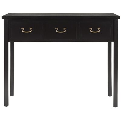 Bad credit financing Cindy Console Table Color: Black...