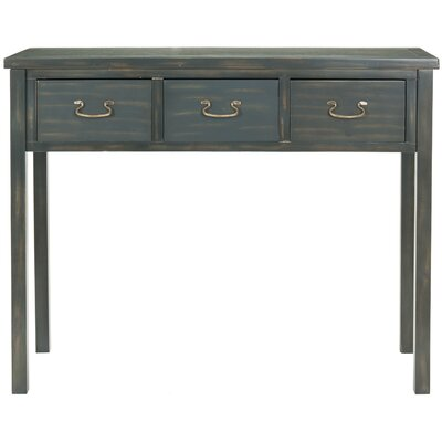 Credit for Cindy Console Table Color: Navy...