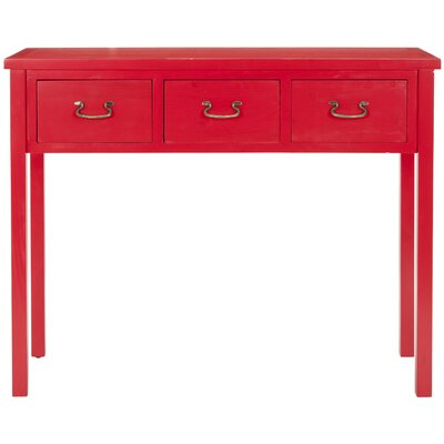 Financing for Cindy Console Table Color: Red...