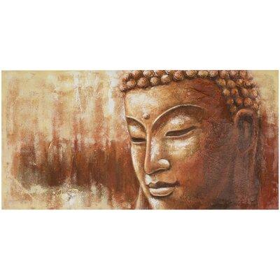Zen Buddha Painting Print on Canvas