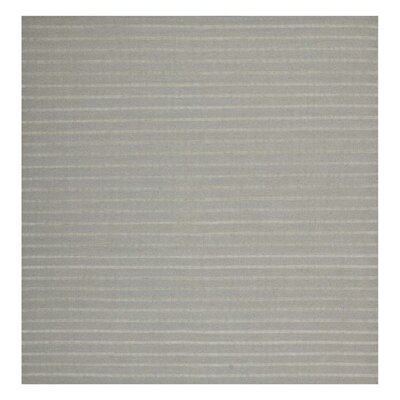 Dhurries Grey Area Rug Rug Size: Square 6