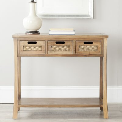 Autumn Console Table Color: Oak