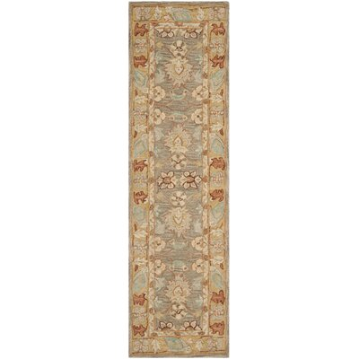 Anatolia Brown/Camel Area Rug Rug Size: Runner 2'3