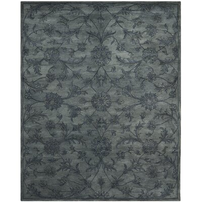Fredrika Hand-Tufted Wool Gray Area Rug