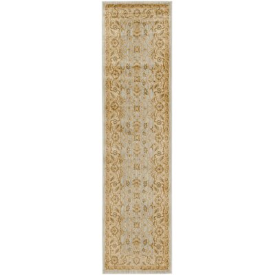 Austin Gold Area Rug Rug Size: Rectangle 53 x 76