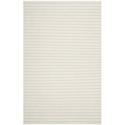 Dhurries Ivory Area Rug Rug Size: Rectangle 8 x 10