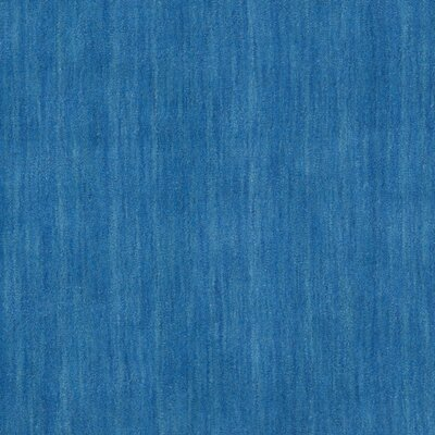 Southbury Hand-Loomed Blue Area Rug Rug Size: Square 6