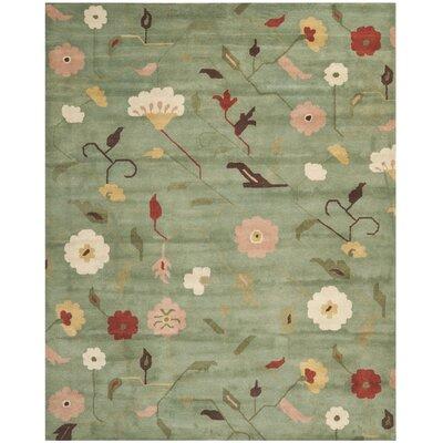 Jardin Sage / Multi Floral Rug Rug Size: 8 x 10