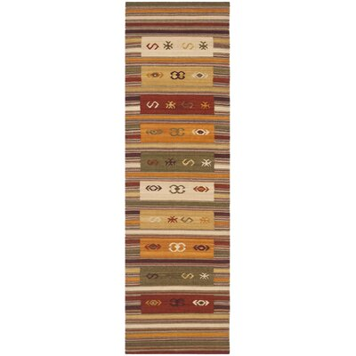 Vacaville Burgundy Area Rug Rug Size: Runner 23 x 8