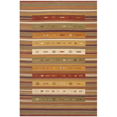 Vacaville Burgundy Area Rug Rug Size: 6 x 9