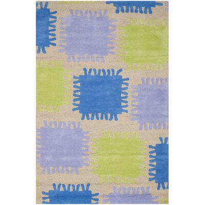 Claro Beige Kids Rug Rug Size: Rectangle 8 x 10