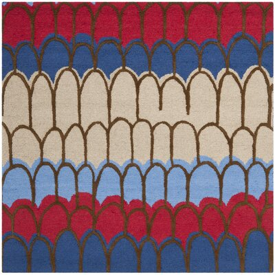 Claro Blue Kids Rug Rug Size: Square 5
