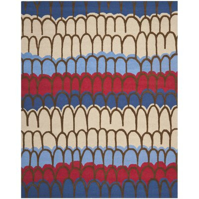 Claro Blue Kids Rug Rug Size: Rectangle 8 x 10