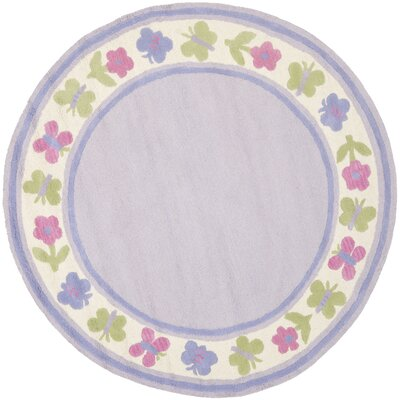 Claro Lavender Kids Rug Rug Size: Rectangle 8 x 10
