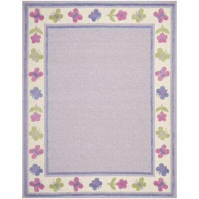 Claro Lavender Kids Rug Rug Size: Rectangle 2 x 3