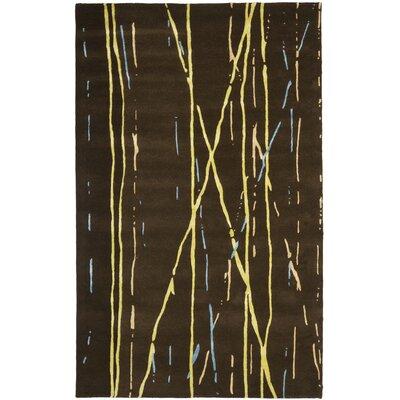 Soho Brown / Yellow Rug