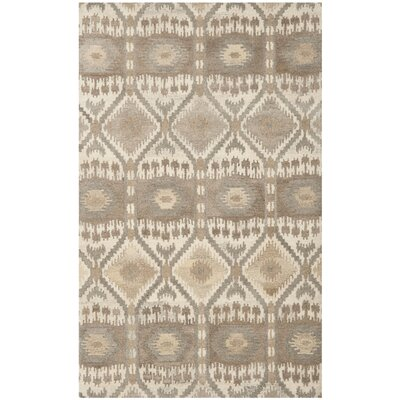 Wyndham Brown Area Rug Rug Size: 5 x 8