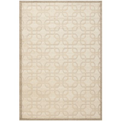 York Brown/Tan Area Rug Rug Size: Rectangle 53 x 77