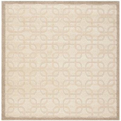 York Brown/Tan Area Rug Rug Size: Square 6 x 6