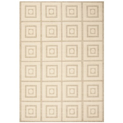 York Cream/Beige Area Rug Rug Size: Rectangle 8 x 112