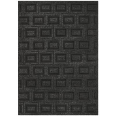 York Charcoal Area Rug Rug Size: Rectangle 8 x 112