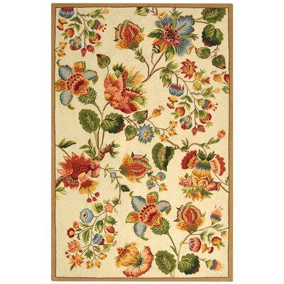 Isabella Ivory/Red Area Rug