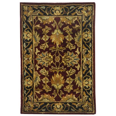 Cranmore Red Area Rug Rug Size: Rectangle 4 x 6
