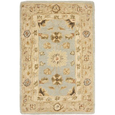 Anatolia Blue/Sage Area Rug Rug Size: Rectangle 2 x 3