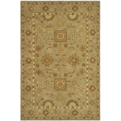 Anatolia Sage Area Rug Rug Size: Rectangle 96 x 136