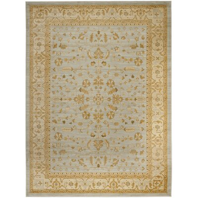 Austin Power Loom Synthetic Light Grey Area Rug Rug Size: Rectangle 8 x 11