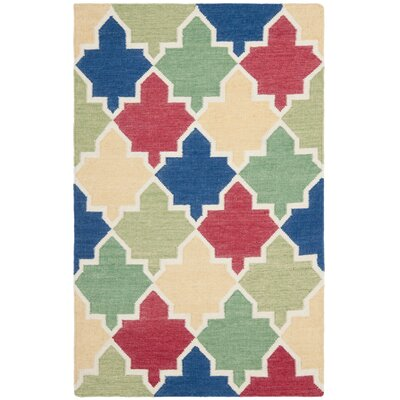 Dhurries Area Rug Rug Size: 4 x 6