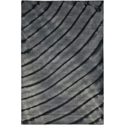 Expression Grey Area Rug Rug Size: 4 x 6