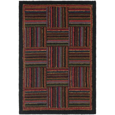 Chelsea Back / Red Area Rug Rug Size: Rectangle 53 x 83