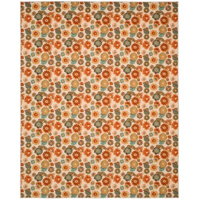Metropolis Beige/Multi Rug Rug Size: Rectangle 53 x 711