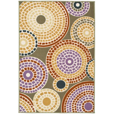 Metropolis Sage/Multi Rug Rug Size: Rectangle 47 x 66