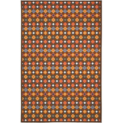 Metropolis Brown/Multi Rug Rug Size: Rectangle 8 x 10