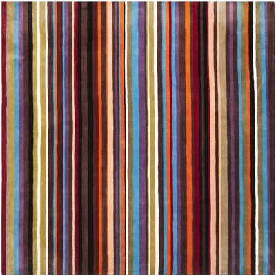 Rodeo Drive Blue/Multi Rug Rug Size: Square 8'