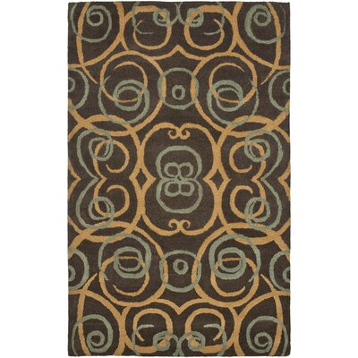 Rodeo Drive Brown/Multi Rug Rug Size: 5 x 8