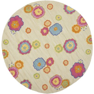 Claro Beige/Pink Area Rug Rug Size: Rectangle 4 x 6