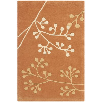 Soho Rust Area Rug Rug Size: Square 6'