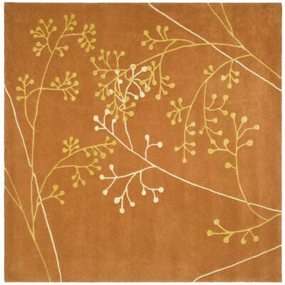 Soho Rust Area Rug Rug Size: Rectangle 36 x 56