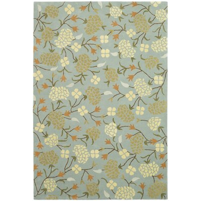 Soho Blue/Multi Rug Rug Size: Rectangle 76 x 96