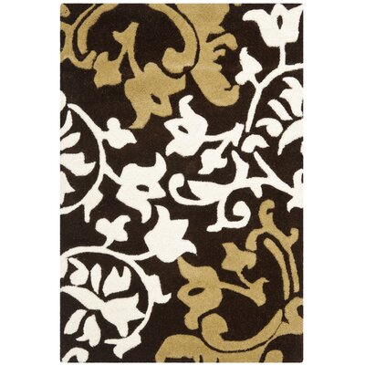 Soho Brown/Multi Rug Rug Size: Runner 26 x 6