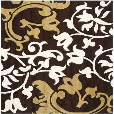 Soho Brown/Multi Rug Rug Size: Square 6